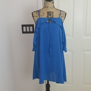 Mary & Mabel Blue Dress